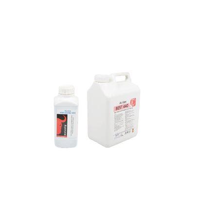 Снимка на Дезинфектант за доилен агрегат 1л.